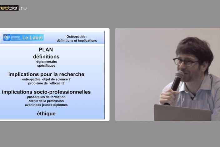vidéos conférences congrès AFO 2015