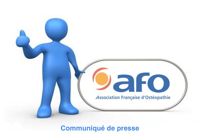 Communiqué de presse AFO