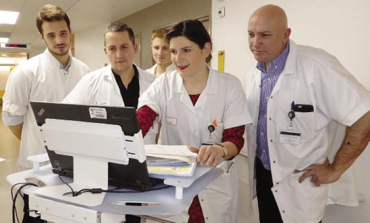 Max Haran hôpital