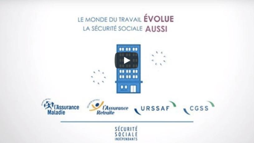 transfert protection sociale des indépendants en video