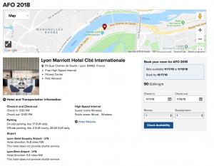 Réservation Marriott