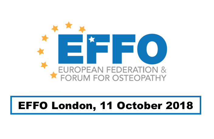 EFFO October meeting and iO Convention