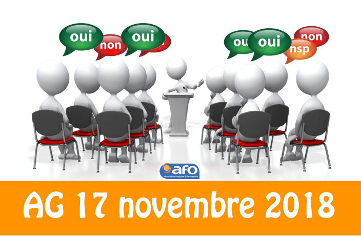 Rappel : AG de l'AFO du 17 novembre au Marriott Lyon Cité Internationale