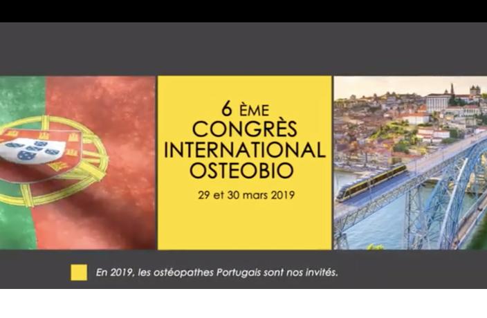 Congrès Ostéobio Portugal