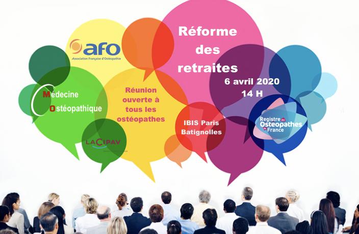 Réunion AFO MO ROF Cipav 6 avril 2020